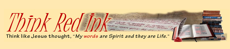Think Red Ink Banner