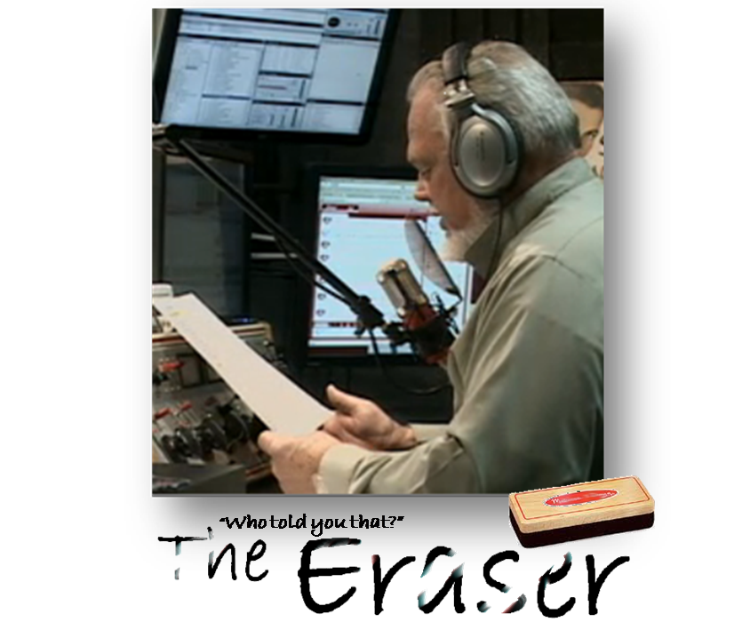 The Eraser with paper