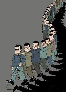 blind leading blind